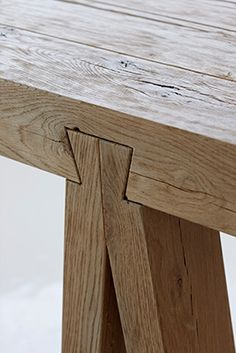Dovetail desk by Meyer von Wielligh