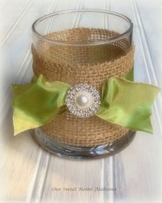 Candle Votive Table Centerpiece Rustic by OurSweetHomeAlabama, $7.95