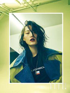 Lee Hye-sung // Elle Korea