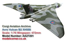 PRE-ORDER Avro Vulcan B2, XH558 'Vulcan to the Sky' Return to Flight October 2007 AA27201