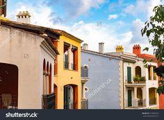 Architectural Buildings On Balearic Island Santa (editar agora): foto stock 514965553 Historic Architecture, Balearic Islands, Majorca, Business Travel, Apartments, Tourism, Buildings, Photo Editing, Santa
