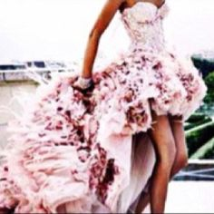 A dress I would sleep in. As in, I'd never want to take it off.