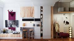 apartamento moderno decoracion originales pequeno ideas