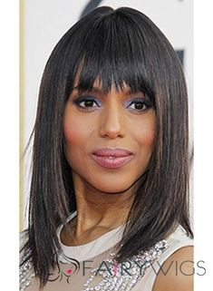 Wigs For Black Women - Lace Front Wigs, Human Hair Wigs, African American Wigs, Short Wigs, Bob Wigs Box Braids Hairstyles, Bob Hairstyles For Fine Hair, Celebrity Hairstyles, Bangs Hairstyle, Black Hairstyles, Gorgeous Hairstyles, Fashion Hairstyles, Hair Bangs, Fancy Hairstyles