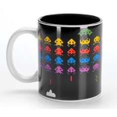 Caneca Space Invaders - R$ 22,00