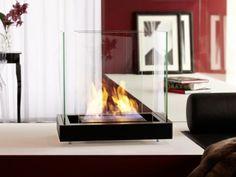 Radius Design 551 A Ethanolkamin Top Flame Edelstahl Schwarz