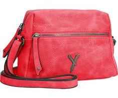 !!!Suri Frey Romy Umhängetasche gestanzte Löcher Red rot Suri Frey, Backpacks, Red, Bags, Dime Bags, Die Cutting, Handbags, Women's Backpack, Lv Bags