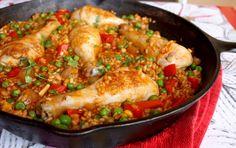 Emerald Rice Cooking: arroz con pollo