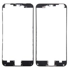 [$2.91] iPartsBuy Front Housing LCD Frame Replacement for iPhone 6S Plus(Black)