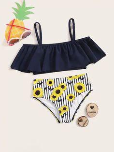 2020 New Tummy Control Swimwear Uk 2 Piece Swimwear Buy Bikini Swimwea – coothl Bathing Suits For Teens, Summer Bathing Suits, Vintage Bathing Suits, Cute Bathing Suits, Girls Fashion Clothes, Teen Fashion Outfits, Girl Outfits, Swimsuits For Tweens, Cute Swimsuits