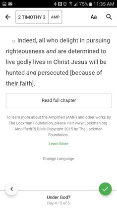 You will be hunted and persecuted