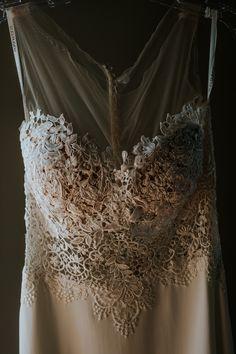 Martina Liana Wedding gown; PHOTOGRAPHY Joel + Justyna Bedford, Jewish Liberty Warehouse wedding in Brooklyn NY