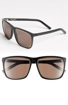 Saint Laurent 58mm Square Sunglasses   Nordstrom