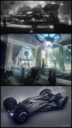 Check out concept designs by Ubisoft Senior 3D Artist, Encho Enchev! http://conceptartworld.com/?p=42939