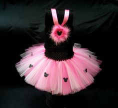 Minnie Mouse Tutu with Halter Top by LittleTutuShop on Etsy, $29.00