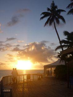 Beautiful sunset - Rarotonga, Cook Islands