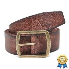 100% Genuine Authentic Royal Enfield Clothing - Edge Leather Belt Size S M