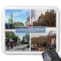 #GB United Kingdom - England - Stoke-On-Trent - Mouse Pad - cyo customize do it yourself diy