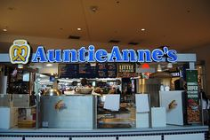 """AuntieAnnes: The BEST Soft Pretzels """"Anywhere"""""""