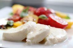 Økologisk tomatsalat med møøøzzarella