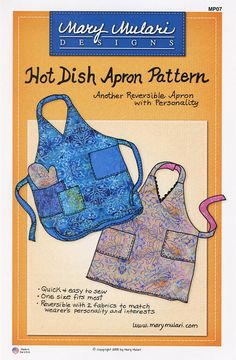Hot Dish Apron Pattern from Mary Mulari Designs fe457d1d27ca
