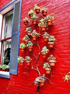 Красивая идея оформления цветочных горшков - Дизайн интерьеров | Идеи вашего дома | Lodgers