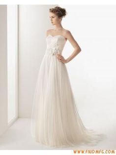 applique querida clássico uma linha de vestido de noiva de tule com jaqueta de manga longa
