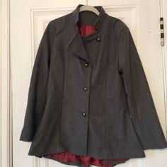 Gray Pea coat-fits a size Small **NOT J CREW** Gray Peacoat-fits a size Small. Perfect condition-never worn J. Crew Jackets & Coats Pea Coats