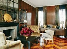 Traditional Living Room by Stephen Sills Associates in New York, New York