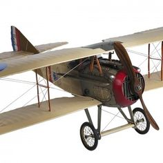 The SPAD XIII was a French biplane fighter used by both the French Air Force and the United States Army Air Service during World War I. Many WWI aces flew the SPAD XIII including the top American ace Eddie Rickenbacker and Rene Fonck who was the top French ace and top Allied ace. Only the Red Baron was credited with a higher victory count than Rene Fonck. #vintage #goldenageofaviation