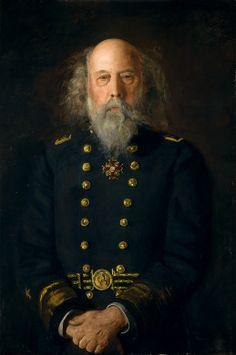 "Thomas Eakins - ""Rear Admiral George W. Melville,"" 1905"