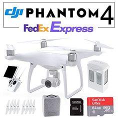 DJI Phantom 4 QuadCopter GPS Phantom4 w/ 4K HD Camera & Gimbal Drone Intelligent Flight + Free SanDisk 64GB microSD Fedex EXPRESS review - http://www.bestseller.ws/blog/camera-and-photo/dji-phantom-4-quadcopter-gps-phantom4-w-4k-hd-camera-gimbal-drone-intelligent-flight-free-sandisk-64gb-microsd-fedex-express-review/