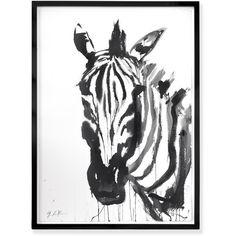 Zebra found on Polyvore