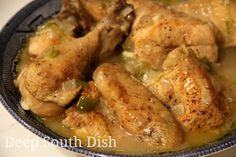 Deep South Dish: Southern Slow Stewed Chicken