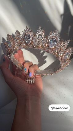 Bridal Tiara, Headpiece Wedding, Wedding Crowns, Wedding Tiaras, Headpiece Jewelry, Hair Jewelry, Wedding Accessories, Wedding Jewelry, Crown Aesthetic