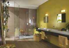 large #shower #contemporary #bathroom www.instudio-design.com