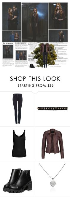 """Katherine McNamara as Clary Fray {Shadowhunters 2016}"" by albacampbell ❤ liked on Polyvore featuring Calvin Klein, Lodis, American Vintage, maurices, Tiffany & Co. and Crivelli"