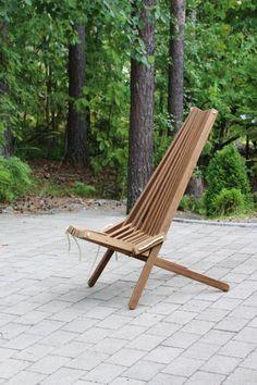 IdeaLaari - Ekotuoli - Kentucky stick chair