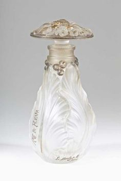 Lot: 1920s L'Berty, Ame de Fleur Perfume Bottle, Lot Number: 0170, Starting Bid: $400, Auctioneer: Perfume Bottles Auction, Auction: Perfume Bottles Auction, Date: May 2nd, 2014 EDT