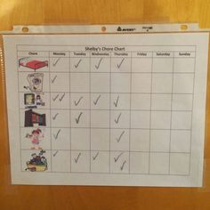 Check out this clean, cute toddler chore chart with pictures! DIY dry erase chore chart for toddlers or get a free chore chart printable with pictures. Toddler Chart, Chore Chart For Toddlers, Charts For Kids, Chore Chart Pictures, Printable Chore Chart, Chore Charts, Routine Chart, Board For Kids, Toddler Development