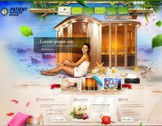 Patient Navigator Service - (sauna website)