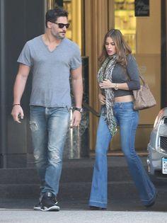 Joe Manganiello and Sofia Vergara were out and about in LA on Saturday.