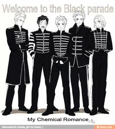 The Netherlands, Spain, Britain, Denmark, And France My Chemical Romance