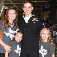 Welcoming Tim home from his final deployment. A massive thanks to he and his family!
