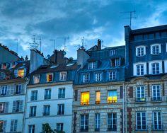 Paris photograph photo of apartment windows by robertcrum on Etsy, $30.00