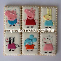 Bolachas Decoradas Peppa Pig