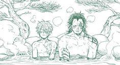 One Piece Sabo One Piece, One Piece Ship, One Piece Nami, Dragon Kiss, Monkey D Dragon, Fantasy Art Men, Aizawa Shouta, One Piece Pictures, One Piece Fanart