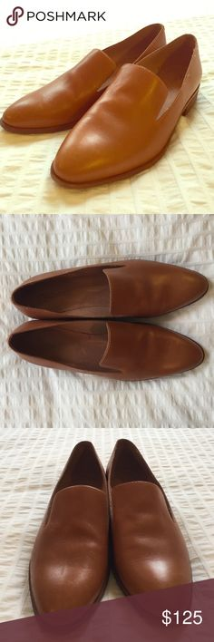 Brand new Madewell Orson loafers in cognac leather Brand new (never worn) Madewell loafers in rich cognac leather - perfect for fall! Chic Orson style no longer available through retailer. Perfect flats for fall. Madewell Shoes Flats & Loafers