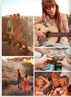 Camping Bachelorette party