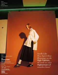 fashion editorials, shows, campaigns & more!: smells like teen spirit: magdalena jasek by chad moore for interview germany april 2015
